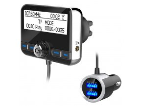 DAB002 Car Receiver DAB Digital Radio Signals Digital Audio Broadcasting Adapter with Bluetooth Car FM Transmitter