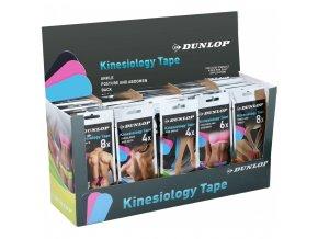 zestaw tasm kinezjologicznych tape na brzuch dunlop 6 szt