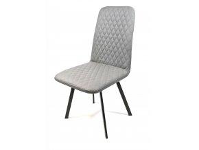 GIZZA designová jídelní židle, 2ks, šedá