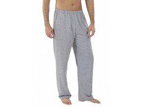 Pánské domácí kalhoty EVONA-tmavě šedá