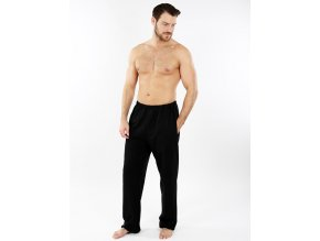 Pánské domácí kalhoty EVONA - černé