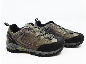 Dětské multifunkční boty Clorts hnědé