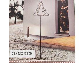 Vánoční svítící stromeček na podstavci