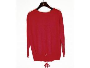 Dámský fashion svetr Brave soul červený