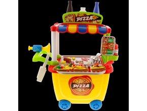 Dětský pojízdný stánek s občerstvením Dough