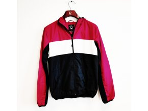 Šusťáková bunda Brave soul s kapucí, barevná