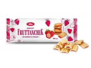 Sušenky s ovocnou náplní Fruttanchik 150g