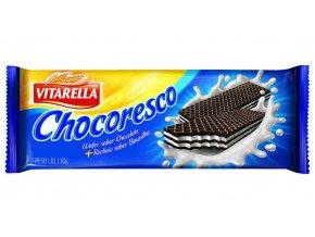 Kakaové oplatky s mléčnou náplní Vitarella 120g