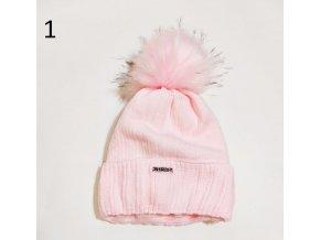 Dámská zimní fashion čepice Veronica- různé barvy