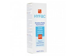 gilbert hyfac emulsion fluide 40 ml face