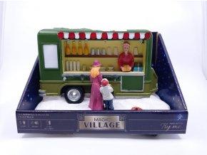 Magic Village - vůz s občerstvením s LED a hudbou