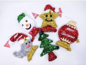Vánoční dekorace, náhodný motiv