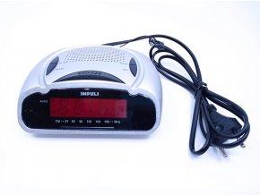 Impuls LED budík s FM rádiem