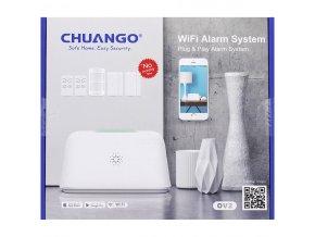 4254890 Chuango WLAN Alarm System original