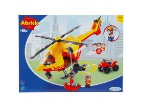 5333131 Abrick Ecoiffier Rettungshubschrauber 3133 original