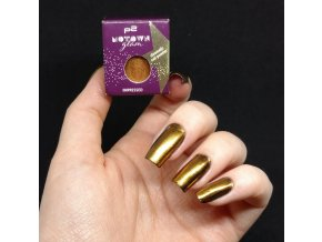 p2 Cosmetics / Motown Glam Impressed Chromatic Nail Powder / Glitrový pudr na nehty