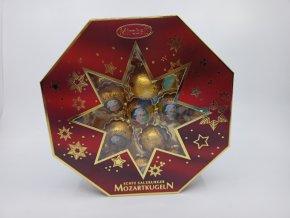 Mozartovy koule Mirabell - luxusní bonboniéra 300g s hvězdou