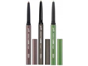 p2 Cosmetics / Perfect Look Kajal Waterproof / Konturní tužka na oči