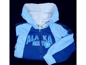 Dětská šusťáková lehká bunda Frog modrá