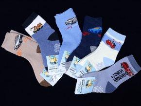 Chlapecké termo ponožky s protiskluzem - 3páry