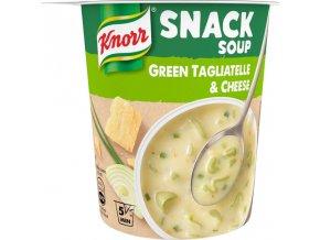 Knorr Snack Soup zelelné Tagliatelle se sýrem 52g