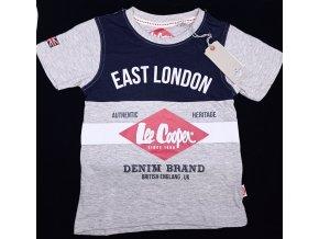 Chlapecké tričko LEE COOPER- East London, šedé