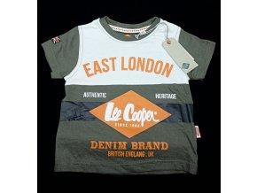 Chlapecké tričko LEE COOPER- East London, zelené