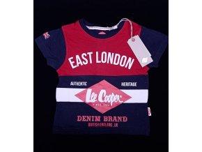 Chlapecké tričko LEE COOPER- East London, červené
