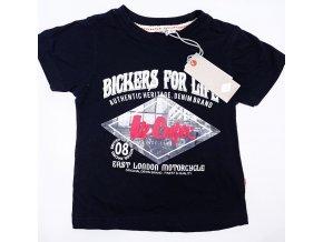 Chlapecké tričko LEE COOPER- Bickers for Life, černé