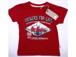 Chlapecké tričko LEE COOPER- Bickers for Life, červené