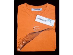 chlapecké tričko KOOKON, oranžové