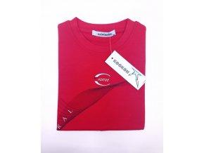chlapecké tričko KOOKON, červené