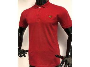 Pánské/ chlapecké triko s límečkem Voi Jeans Co.  červené