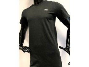 Pánské dlouhé bavlněné triko Cynical, černé