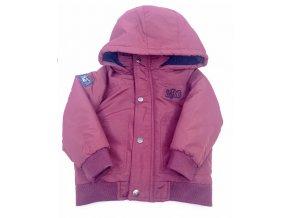 Dívčí zateplená zimní bunda Petits, vínová