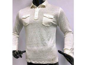 Pánská bavlněná neformální košile Carnet De Vol, bílá