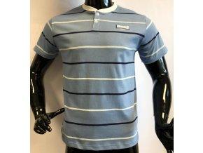 Pánské triko Lonsdale, pruhované, světle modré