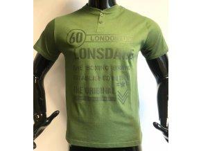 Pánské triko Lonsdale zelené