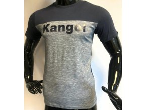 Pánské triko s krátkým rukávem KANGOL, modré