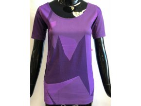 Dámské triko s krátkým rukávem fialové, ATZ