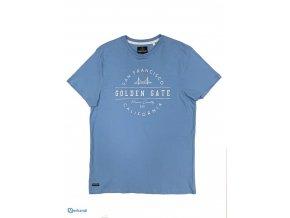 Pánské tričko Threadbare, modré