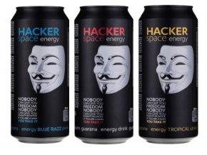 hacker drink 3druhy