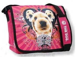 Taška přes rameno The Dog - růžová