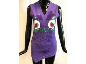 Dámské triko bez rukávů  ATZ, fialové