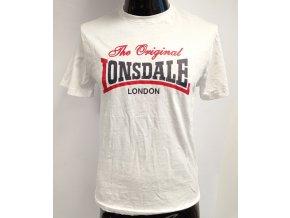 Pánské triko s krátkým rukávem LONSDALE, bílé