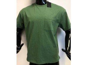 Pánské triko s krátkým rukávem  MVP, zelené
