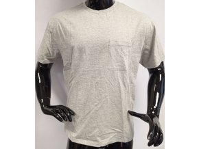 Pánské triko s krátkým rukávem  MVP, šedé