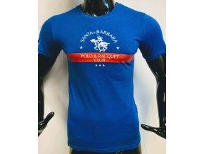 Pánské triko Santa Barbara Polo club, modré