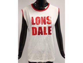 Dámské triko bez rukávů Lonsdale, bílé