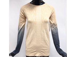 Funkční sportovní triko Climawear dlouhý rukáv, béžové